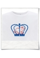 Frog the King T-Shirt in white