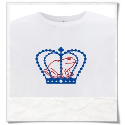 T-Shirt Der Froschkönig für Herren Fair produziert