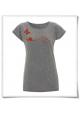 Frauen T-Shirt Schmetterling & Schnecke, Fair Wear