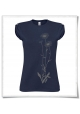 Blumen / Frauen T-Shirt / Navy / Fair Wear