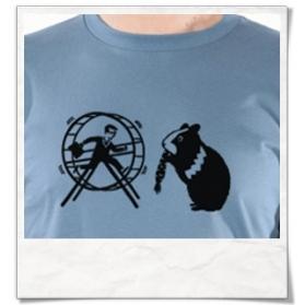 Männer Langarm T-Shirt aus Bio-Baumwolle Hamster & der Hamsterrad Fair hergestellt in Blau