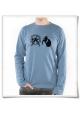 Langarm Männer T-Shirt Hamster & der Hamsterrad Fair & Bio