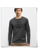 Bike Longsleeve men T-Shirt in gray