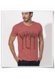 Fair Wear & Biobaumwoll-T-Shirt Vogel im Wald für Männer