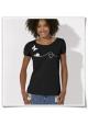 Schmetterling und Schnecke / Frauen T-Shirt Fair und Bio