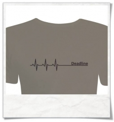 Männer T-Shirt Deadline Heavy ( Dicke Qualität ) in Grün / Olivgrün Fair hergestellt