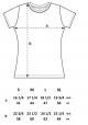 Vogel im Wald T-Shirt Fair Wear ( Dicke Qualität ) in Schwarz & Weiß