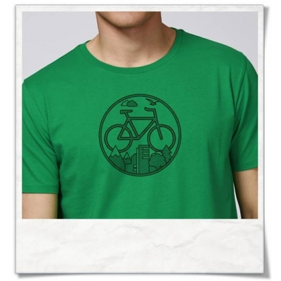 Men\'s T-Shirt Bike / Fair Clothing & Organic Cotton