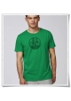 Bike men's T-Shirt in green & black