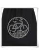 Fahrrad Turnbeutel / Rucksack / Fair Wear in Schwarz