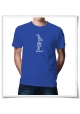 Kein Bock T-Shirt blau