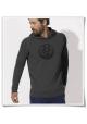 Bike men's hoodie / Fair Clothing & Organic Cotton