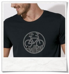 Bike men\'s T-Shirt in black