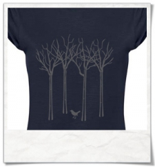 The bird in the forest T-Shirt