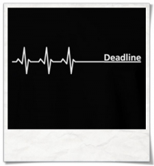 Deadline T-Shirt / Black