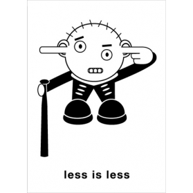 less is less