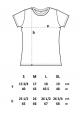 Frauen T-Shirt Schnecke & Schmetterling T-Shirt in Blau. Fair hergestellt & aus Biobaumwolle