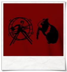 Hamster und der Hamsterrad T-Shirt