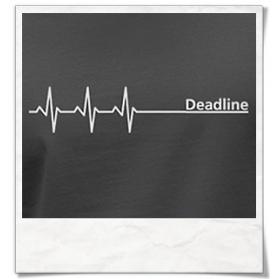 Deadline Longsleeve T-Shirt