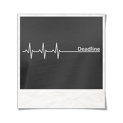 Deadline Langarm Männer T-Shirt