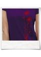 Blumen T-Shirt / Violett