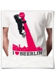 I love BERLIN / BEERLIN :) Männer T-Shirt / Weiss / Fair trade Bio und Öko