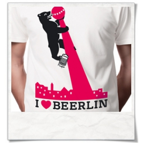 I love BERLIN / BEERLIN :) T-Shirt