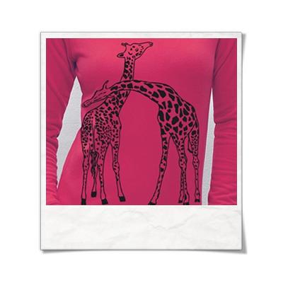Giaffe / Giraffen / Sweatshirt