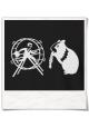 Hamster / Hamsterrad / Männer T-Shirt / Schwarz / Fair Bio und Öko