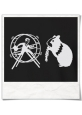 HamHam, out of the hamster wheel :) T-Shirt / Black