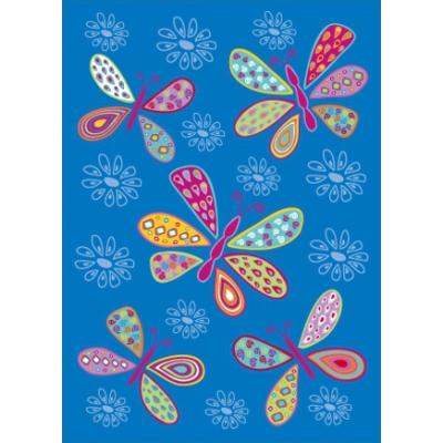 Bunte Schmetterlinge / Postkarte