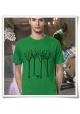 The bird in the forest / men T-Shirt / Navy / Fair, Eco & Organic