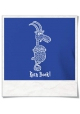 Kein Bock / men T-Shirt / Blue / Fair Organic and Eco