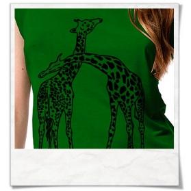 Giraffes / Giraffes Bamboo T-Shirt