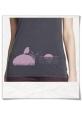 Vogel bei Sonnenuntergang T-Shirt / Grau