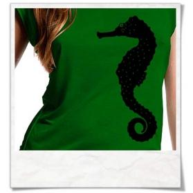Seahorse T-Shirt / Green