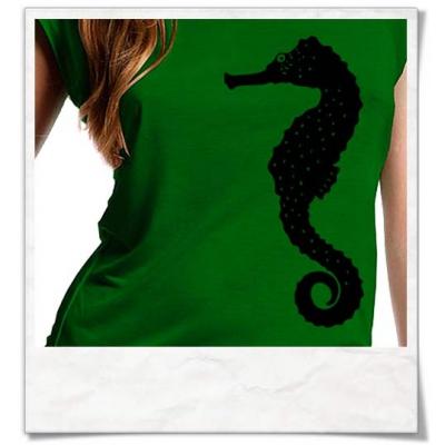 T-Shirt Seepferdchen