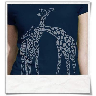 Giaffe / Giraffen T-Shirt
