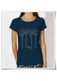 The bird in the forest women T-Shirt Fair and Organic