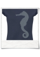 Seahorse T-Shirt women T-Shirt / Navy / Fair Wear