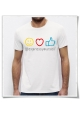 T-Shirt Emojis / Express yourself / Männer T-Shirt