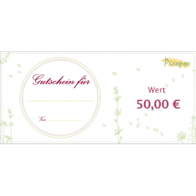 Gift voucher for sustainable fashion by Picopoc