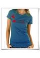 Schnecke und Schmetterling T-Shirt für Faruen