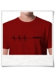 Deadline ;) men T-Shirt / Red / Fair Organic and Eco