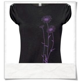 Flowers T-Shirt in Black