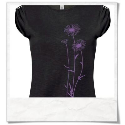 Women T-Shirt Flowers