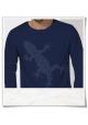 Gecko Langarm Männer T-Shirt