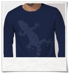 Gecko Langarm T-Shirt