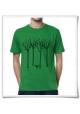 Vogel im Wald Männer T-Shirt in Grün / Fair Öko Bio