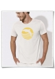 Men's T-Shirt Dolphin Sun Sea